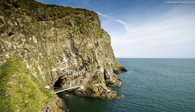 Der Klippenpfad The Gobbins