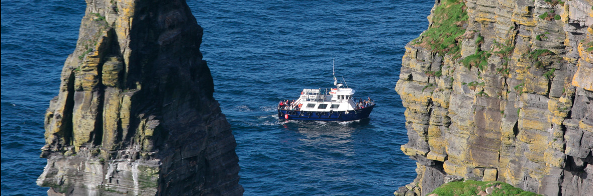 Cliffs of Moher cruises