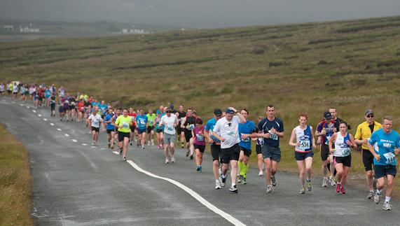course a pied irlande
